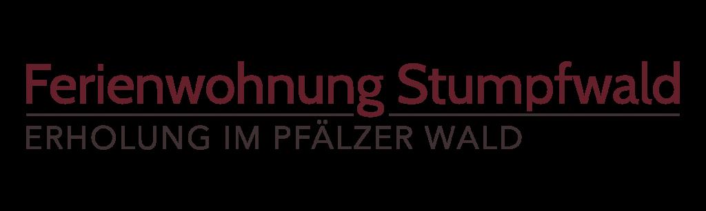 Logo der Ferienwohnung Stumpfwald - Erholung im Pfälzer Wald